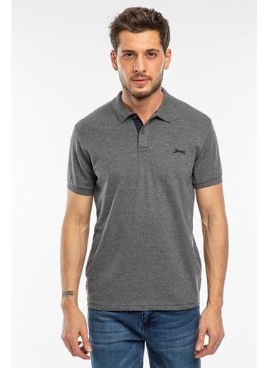 Slazenger Slazenger Bambi Erkek T-Shirt  Antrasit